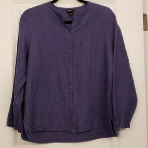 Eileen Fisher Linen Top